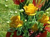Růže a anturie